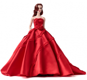Jason Wu Fragrance: Velvet Rouge Véronique Perrin® Dressed Doll