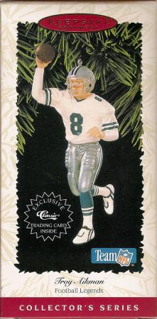 Troy Aikman Football Legends #2 1996 Ornament