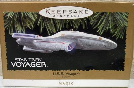 Voyager with Light 1996 Ornament