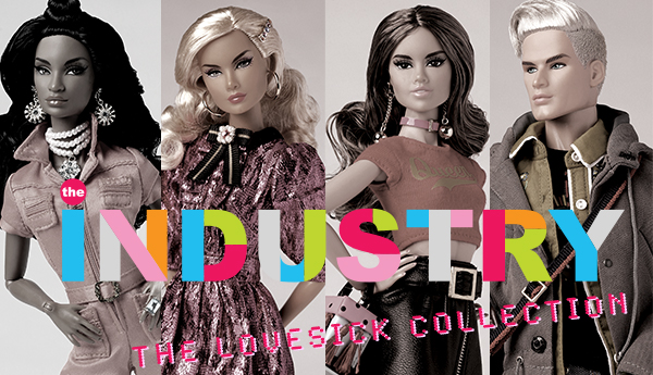 Introducing THE INDUSTRY™: The Lovesick Collection, designed by David Buttry!