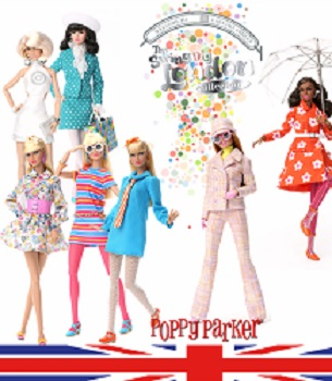 Poppy Parker The Swinging London Collection